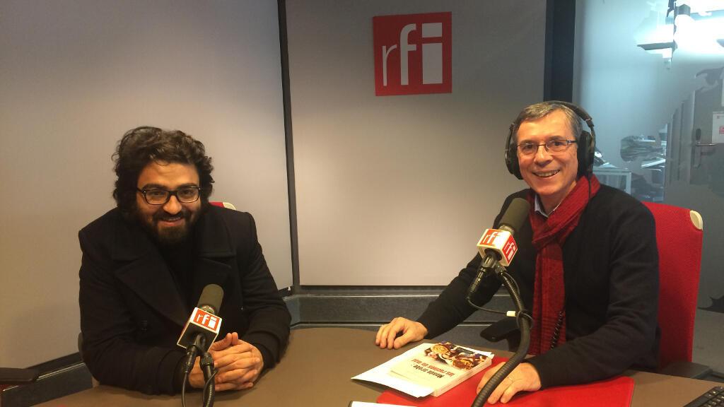 Bachir El Khoury à gauche et Eric Bataillon à droite.