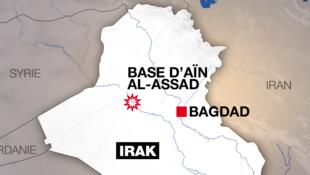Sansanin sojin Amurka da Iran ta kaiwa hari a Iraqi
