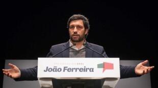 Candidato às eleições presidenciais, João Ferreira