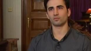 امیر حکمتی، آمریکایی ایرانی تبار که به اتهام جاسوسی در ایران زندانی است.