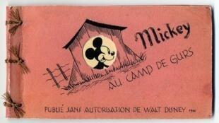 Mickey in Gurs Camp de Gurs by Horst Rosenthal, 1942, Mémorial de la Shoah Collection, Paris
