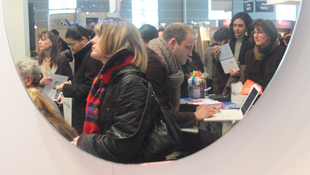 During the ExpoLangues fair in Paris