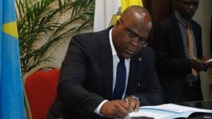 Félix Tshisekedi, o novo chefe de Estado da RDC
