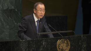 O secretário-geral da ONU, Ban Ki-moon, exortou neste sábado (25) o governo da Indonésia a não executar dez pessoas condenadas à morte por tráfico de drogas, entre elas o brasileiro Rodrigo Gularte, lembrando a oposição das Nações Unidas à pena de morte.