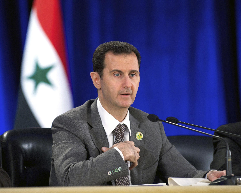 Shugaba Bashar al- Assad na Syria