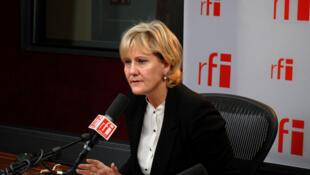 Член партии «Республиканцы» Надин Морано возглавила группу «За новый диалог с Россией»