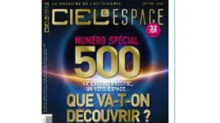 Page de garde de la revue Ciel et Espace.