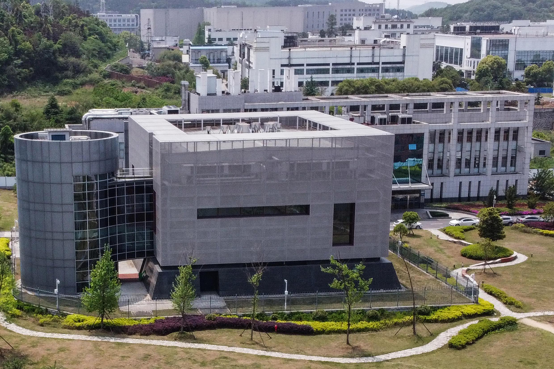 Phòng thí nghiệm P4 tại Viện Virus học Vũ Hán, tỉnh Hồ Bắc, Trung Quốc. Ảnh chụp ngày 17/04/2021.