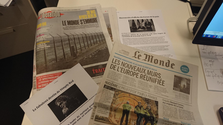 Diários franceses 11 11 2019