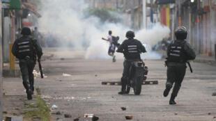 Chanceler venezuelano teme que conflitos em seu país (foto) alcancem a violência registrada na Síria.