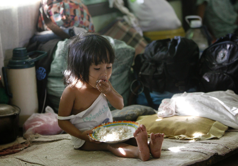 Trung tâm giúp đỡ trẻ em nghèo tại thành phố Legazpi, phía nam thủ đô Philippines (REUTERS)