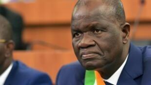 Amadou Soumahoro a été élu président de l'Assemblée nationale ivoirienne, le 7 mars 2019.