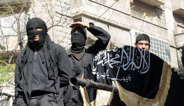 Джихадисты в Сирии