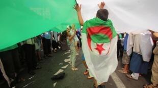 Manifestation à Alger, le 30 août 2019.