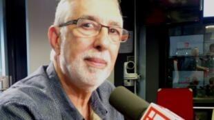 El director del Festival de Biarritz, Jacques Arlandis, en los estudios de RFI