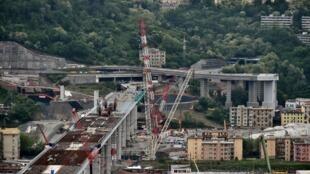 Строительство нового моста удалось завершить менее чем за два года