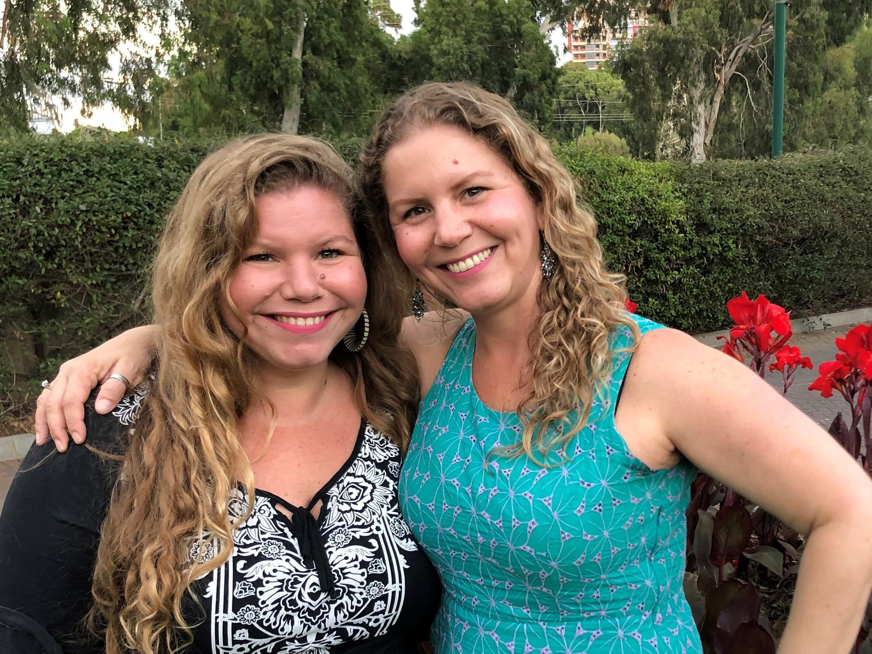 As brasileiras Mônica e Carol Hauser (Crédito - Daniela Kresch 25-06-2020) 2