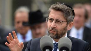 France's grand rabbi Haïm Korsia