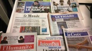 Diários franceses 07/01/2015