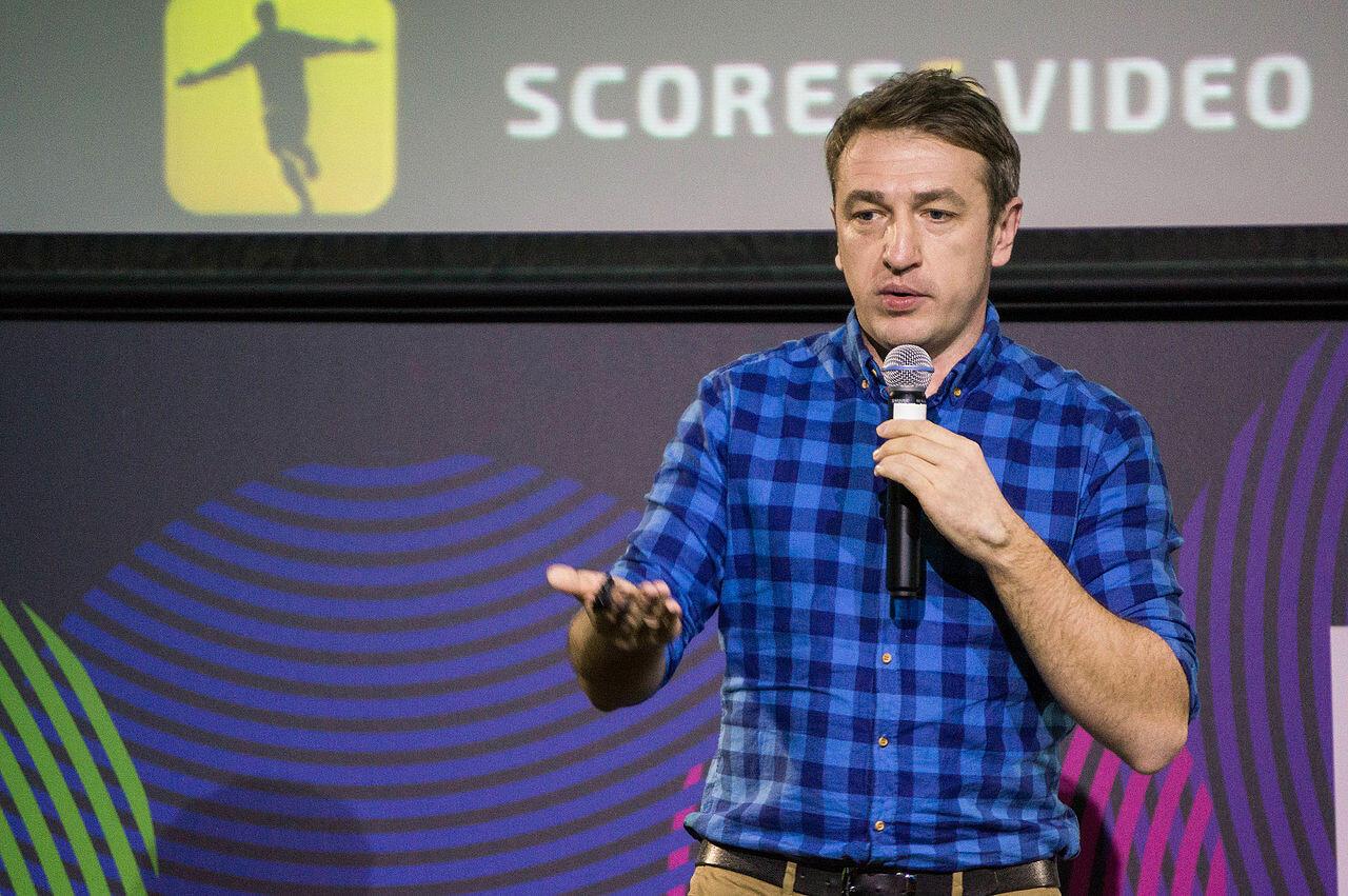 Генеральный директор Sports.ru Дмитрий Навоша