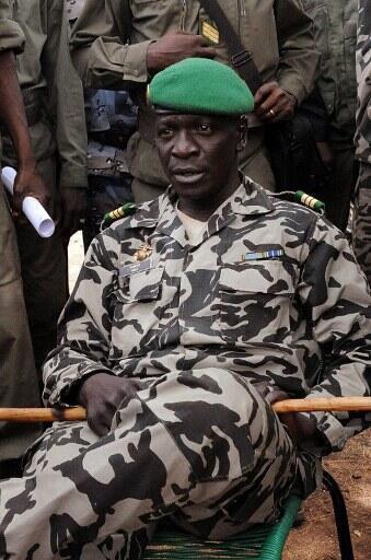 Shugaban gwamnatin mulkin soja ta Mali Amadou Sanogo