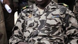 Le chef de la junte malienne, le capitaine Amadou Sanogo, à Bamako, le 22 mars 2012.