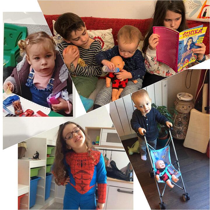 """Para as crianças francesas, a troca de brinquedos e de códigos""""de gênero"""" parecem mais simples do que para o próprio mercado infanto-juvenil."""