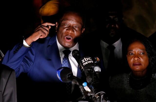 Emmerson Mnangagwa lokaci jawabi gaban al'ummar Zimbabwe a Harare