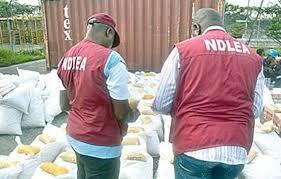 NDLEA agents in Nigeria