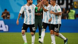 Les Argentins, menés par leur leader Lionel Messi, attendent les Bleus de l'équipe de France en huitièmes de finale du Mondial 2018.