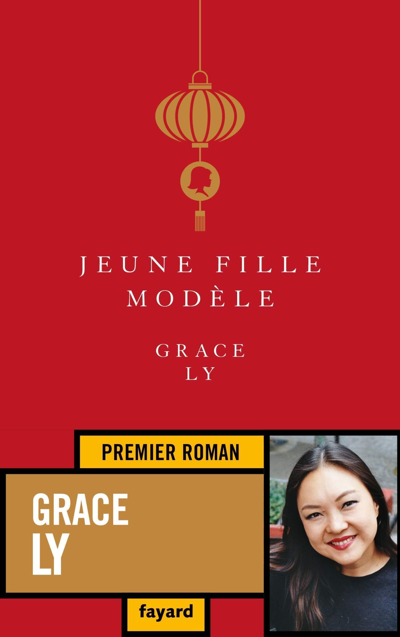 """Couverture du roman """"Jeune fille modèle"""""""