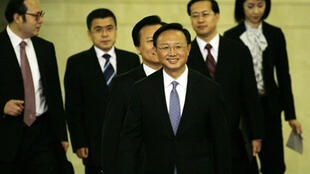 China's Foreign Minister Yang Jiechi (centre).
