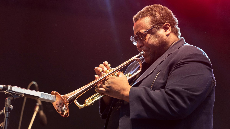 Wallace Roney, lors du Festival de Jazz Blue Note, à New York, le 4 août 2016.