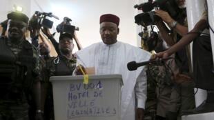 Presidente  cessante do Níger, Mahamadou Issoufou