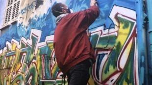 Street art marseille rue graffiti