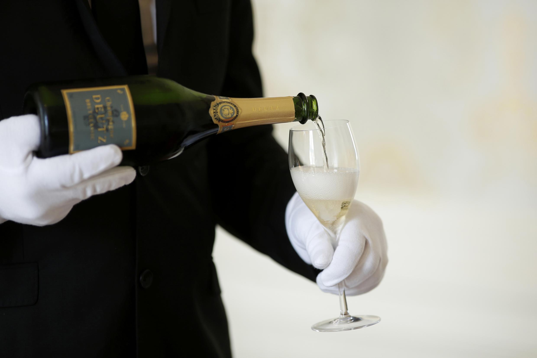香檳酒銷量在法國下降