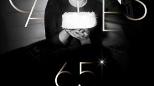 第65届嘎纳电影节海报上的玛丽莲-梦露。