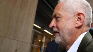 Le chef du Parti travailliste Jeremy Corbyn, à Londres, le 4 septembre 2018.