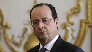 El presidente francés François Hollande.
