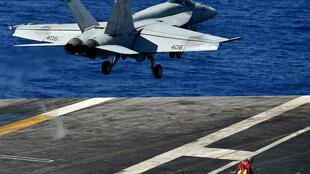 The USS Dwight D. Eisenhower aircraft carrier will remain in the Middle East region to support the US withdrawal from Afghanistan over the coming months, the Pentagon said.