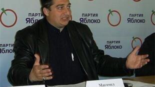 Магомед Муцольгов - руководитель правозащитной организации «Машр»