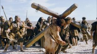 Кадр из фильма Мела Гибсона «Страсти Христовы»