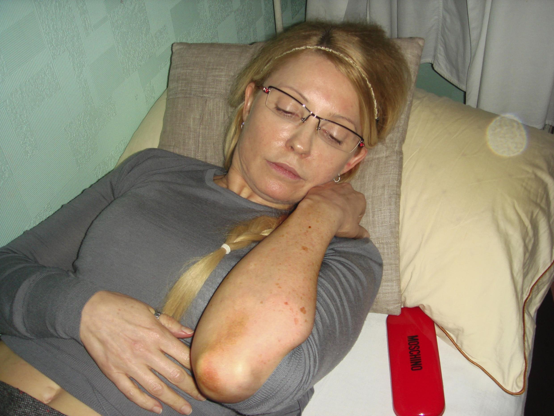 L'état de santé de Ioulia Timochenko (ici le 27 avril 2012) se dégrade de jour en jour.