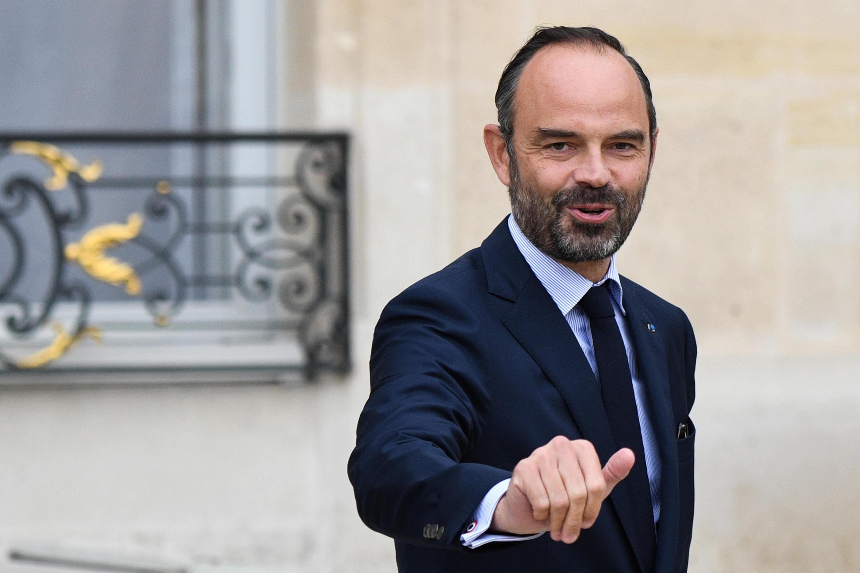 El primer ministro Édouard Philippe, el 24 de octubre 2018 en París.