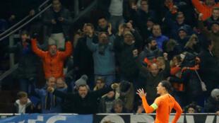 Virgil van Dijk scored the equaliser for the Netherlands against Germany in stoppage time.