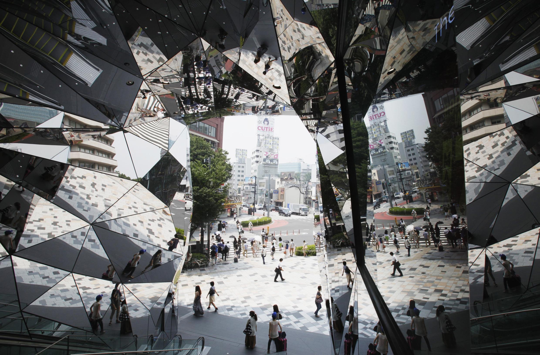 Một trung tâm thương mại ở Tokyo. Ảnh chụp ngày 27/07/2012.