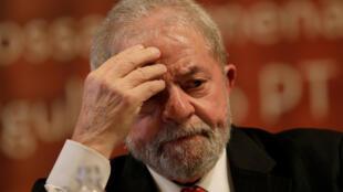 El ex presidente brasileño, Luiz Inácio Lula da Silva, el 5 de julio 2017 en Brasilia.