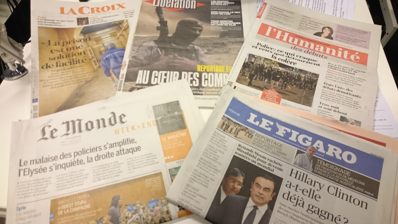 Diários franceses 21.10.2016