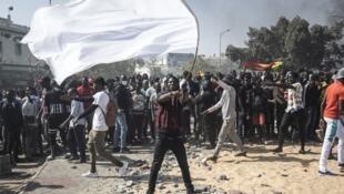 senegal manifestation dakar m2d mouvement democratie