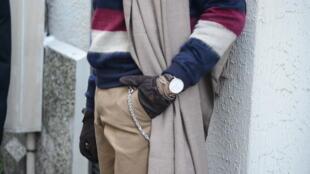 Неделя мужской моды в Париже. Стрит-луки в деталях